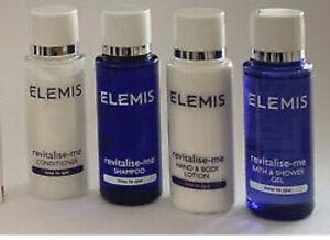 Elemis travel size 30ml shampoo conditioner bodywash body lotion  revitalise me