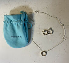 Rare Sterling Tiffany & Co. Frank Gehry Torque Jewelry Set (Necklace & Earrings)