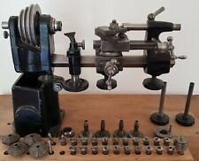 "Uhrmacherdrehbank ""Burchardt "" Uhrmacherdrehmaschine watchmakers lathe"