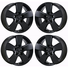 "20"" DODGE RAM 1500 TRUCK BLACK WHEELS RIMS FACTORY OEM SET 4 2363 EXCHANGE"