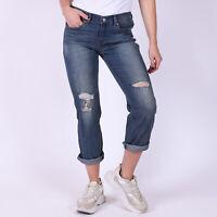 Levi's Boyfriend Adventure Blues stretch Damen blau Jeans Größe 27