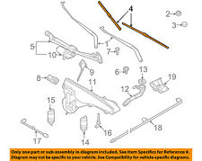 BMW OEM 09-13 X5-Wiper Blade 61610038893