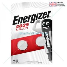 Energizer CR2025 3V Lithium Coin Cell Battery DL 2025 - Pack of 2 Longest Expiry