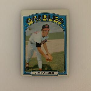 1972 Topps Baseball Card Jim Palmer # 270 Baltimore Orioles HOF