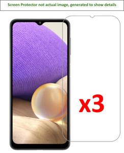 3x Samsung Galaxy A32 5G Screen Protector w/ cloth