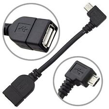 Micro USB Host Cable Male to Female OTG Adapter Samsung Nexus Galaxy S3 S4 S5 S6