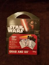 Star Wars The Force Awakens Grab and Go Sticker Book 150+ stickers