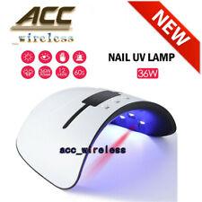 36W Nail Polish Dryer Pro UV LED Lamp Acrylic Gel Curing Light Manicure Timer OC