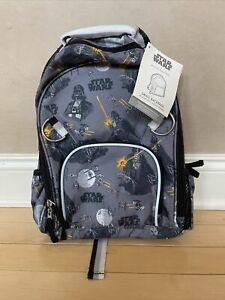 POTTERY BARN KIDS STAR WARS Darth Vader SMALL BACKPACK BOOK BAG NEW