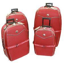 5 tlg Reisekoffer Set ROT / Koffer 10 cm erweiterbar Beauty Case 81 71 61 51 cm