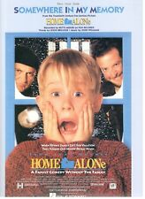 """SOMEWHERE IN MY MEMORY"" SHEET MUSIC-HOME ALONE-PIANO/VOCAL/GUITAR-1991-RARE-NEW"