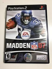 Madden Nfl 07 (Ps2), Excellent PlayStation2, Playstation 2 Video Games