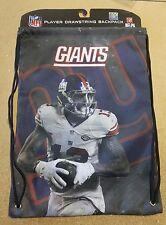 Odell Beckham Jr #13 NY Giants Jersey Back Pack/Sack Drawstring gym Bag
