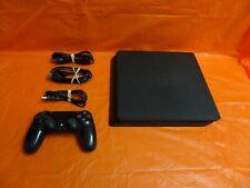 Sony Playstation 4 Slim Ps4 P4 Cuh-2215B 1Tb Home Video Game System Black