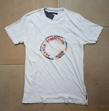 "BNWT FRENCH CONNECTION TSHIRT. SIZE L (42""). WHITE. 100% COTTON. RRP £50."