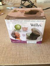 Wellys Sonic Cordless Denture Cleaner Premium