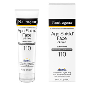 Neutrogena Age Shield Face Lotion Sunscreen with Broad Spectrum SPF 110, Oil-Fre
