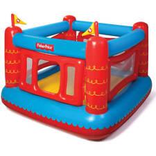 Kids Bouncetastic Bounce House W/ 50-Balls Indoor Outdoor Inflatable Play Kid