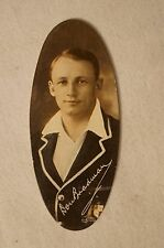 DON BRADMAN - Vintage - 1935 - Scarce Carreras Oval Card - Highly Collectable.