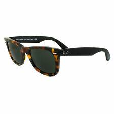Ray-Ban Sunglasses Wayfarer 2140 1157 Spotted Black Havana Green Medium 50mm