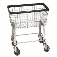 Laundry Cart 2.5 Bushel on wheels w Basket Heavy Duty!!