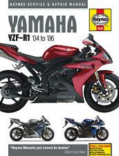 Haynes Manual 4605 - Yamaha YZF-R1 (04 - 06) workshop/service/repair
