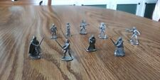 Set of 9 Pewter Figures - Star Wars Classic Trilogy Edition Monopoly Replacement