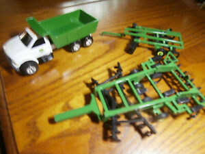 Ertl John Deere Truck and 2 Implements Farm Country 1/64th Scale