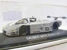 Max Models France MB Sauber Mercedes C 9 1:43 Scale OVP (Z502)