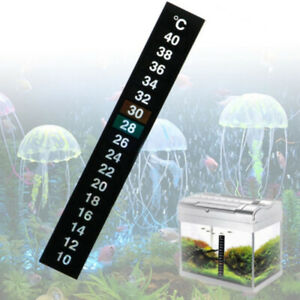3Pcs  Digital Aquarium Fish Tank Fridge Thermometer Sticker Measurement Stickers