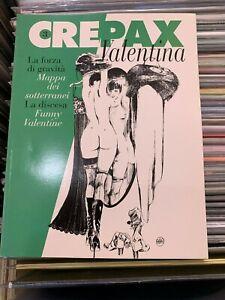 CREPAX - VALENTINA 3° Volume - BLUE PRESS COME NUOVO