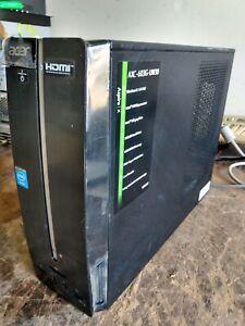 ACER ASPIRE INTEL J1900 DESKTOP COMPUTER  AXC-603G-UW30