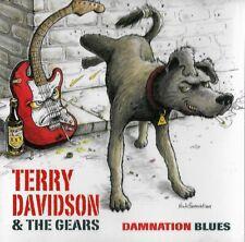 TERRY DAVIDSON & THE GEARS damnation blues - cd rockin blues