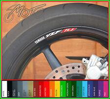 8 x Yamaha YZF R1 Wheel Rim Decals Stickers