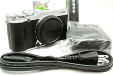 Fujifilm X-M1 mirrorless digital camera *Silver *superb *tested