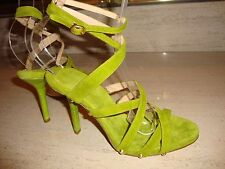 GORGEOUS, NWB, SUPER RARE  DONNA KARAN COLLECTION SUEDE HEELS / SANDALS