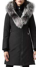 mackage trish fur trim down coat Size Small Black