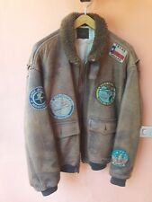 Giubbotto giacca pelle Avirex Top Gun originale  vintage flight jacket tg XL