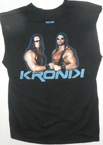 Ring Worn Kronik shirt with sleeves cut off and neck cut, worn by Bryan Clark