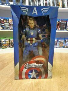 NECA Marvel The Avengers Captain America Chris Evans 1/4 Scale Figure