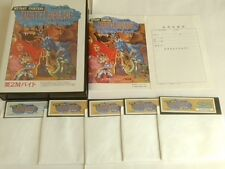 DEATH BRADE for SHARP X68000 Shooter Game Japan set/Gamedisk,manual,Boxed-B-