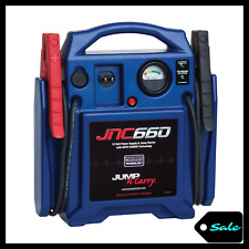Portable Jump Starter Battery Charger Power Car Jumper Box 1700 Peak Amp Vehicle