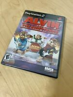 Alvin And The Chipmunks New Factory Sealed Playstation 2 PS2 Rare Video Game