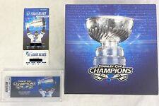 2019-2020 Stanley Cup Champion St. Louis Blues Season Ticket Holder Box Set