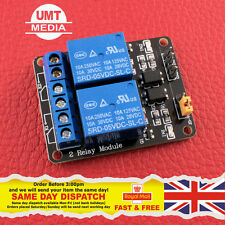 2 Channel 5V Relay Module Optocoupler Protection Power Supply Arduino PIC DSP