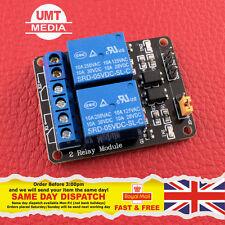 2 canales 5V Módulo de Relé Protección Optoacoplador Arduino Pic DSP de fuente de alimentación