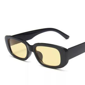 Fashion Retro Y2k Rectangle Sunglasses Shades Sun Glasses Women UV400
