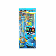 Tayo The Little Bus Toothbrush With Toy Figure Tayo & Rogi