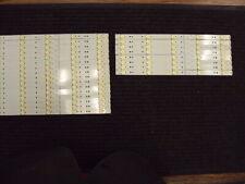 NEW 5835-W65002-LR40, 5835-W65002-OP40 LG 65UH5500 LED Strips (24 Pieces)