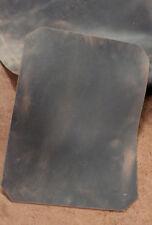 Einmaliges Leder braun, Blankleder, Dickleder, Antikleder, Vintage - Used Optik